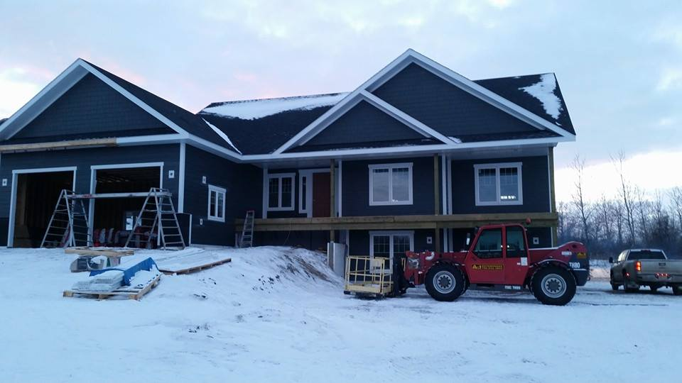 Dasher Construction does residential builds.