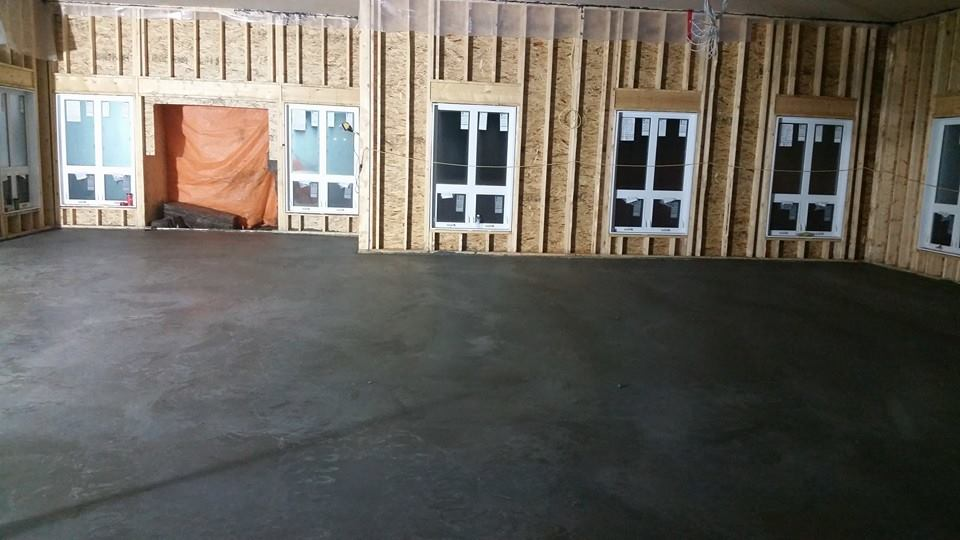 Dasher Construction specializes in commerical concrete
