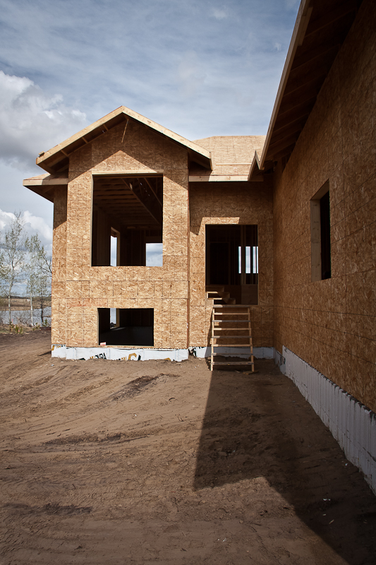 Dasher Construction residential build north of Lloydminster