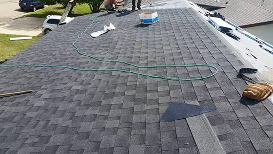 Dasher Construction does shingle replacement