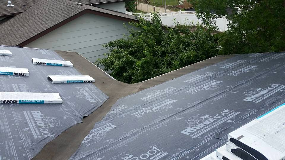 Dasher Construction shingle replacement.