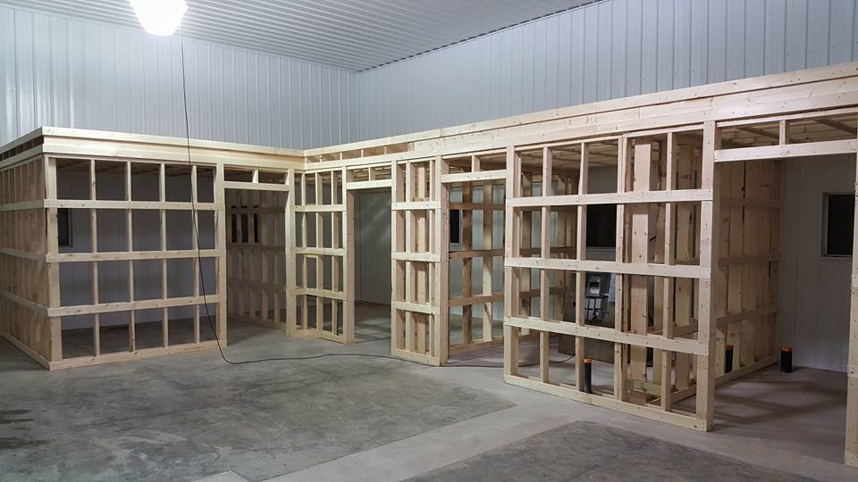 Dasher Construction is capable of all types of indoor construction