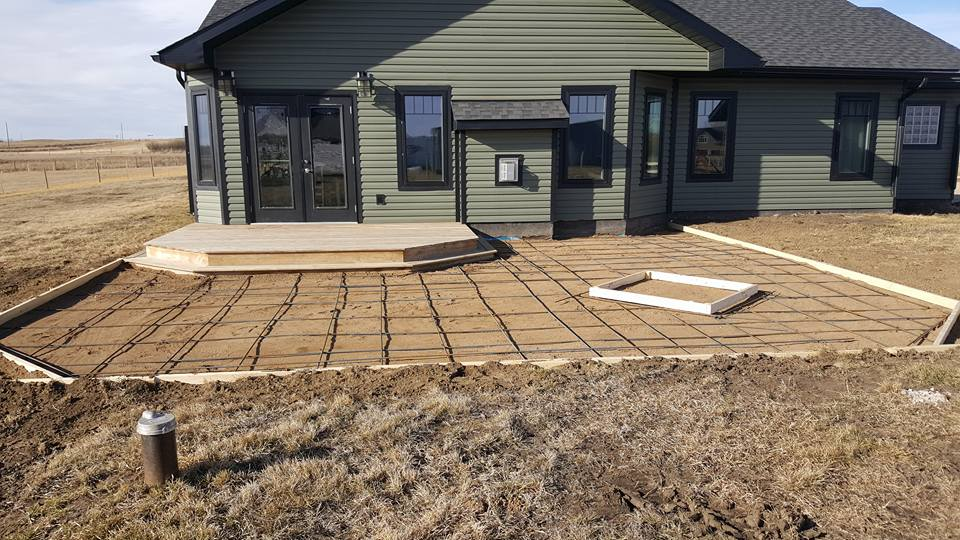 Dasher Construction building pads and decks